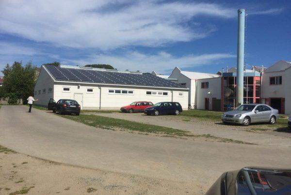 Textil- und Wäsche-Service-Halle in Sellin auf der Insel Rügen von Rast Bau errichtet