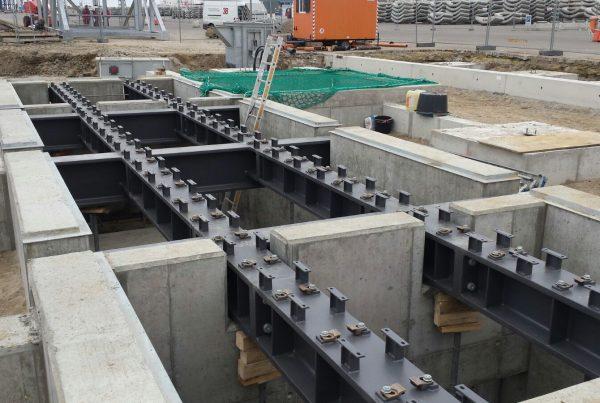 Neubau des Bauunternehmen in Sellin auf der Insel Rügen Rast Bau