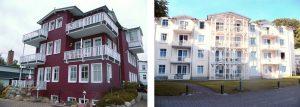 Bauen auf der Insel Rügen - Hotel Bernstein im Ostseebad Sellin an der Ostseeküste